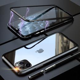 2019 iphone affe fall Magnetische Adsorption Ausgeglichenes Glas zurück Fall für iPhone 11 Pro Max 11 XS Max XR XS X 8 7 6 5 6S SE