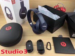 collar de auriculares inalámbricos Rebajas Nuevo estilo de alta calidad Studio3 Bluetooth Headset Multi-función Bass Bluetooth Headset Auricular con reducción de ruido Proporciona cajas Entrega gratuita