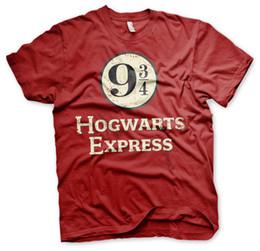 Canada Harry Potter Poudlard Express Train Plate-forme 9 3/4 Gleis Zug Männer Hommes T-Shirt cheap express men t shirts Offre