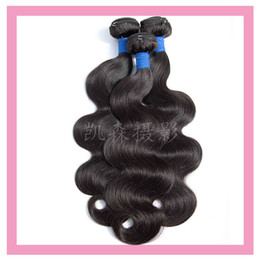 malaysian products Coupons - Malaysian Virgin Human Hair 3 Bundles Body Wave Double Wefts Natural Color Cheap 3 Pieces lot Hair Products 8-30""
