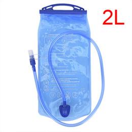 Мешок для воды Резервуар для воды Мочевой пузырь Пакет для хранения гидратации BPA Free 2л Бег Гидратация Жилет Рюкзак cheap running free backpacks от Поставщики свободные рюкзаки