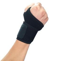 Argentina Nuevo Protector de muñeca pulsera Brace Soporte deportivo Gimnasio Levantamiento de pesas Correa ajustada Estabilizador de pulgar derecho / izquierdo Durable Suministro