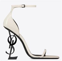 2019 скромные модные платья 2019 SYL белая кожа черный каблук мода свадебные свадебные туфли скромная мода Эдем высокий каблук женщины партии вечернее платье обувь 10 см каблук дешево скромные модные платья