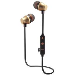 Argentina Manos libres impermeable Banda para el cuello Bluetooth Música Auriculares Bluetooth Auricular inalámbrico Bluetooth con ranura para tarjeta TF con 4 colores Suministro