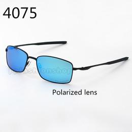uomini di vetro rettangolare Sconti Occhiali da sole da bicicletta quadrati polarizzati da uomo Occhiali da sole rettangolari da uomo ultravioletti UV400 Occhiali protettivi da guida sportiva Estate 4075