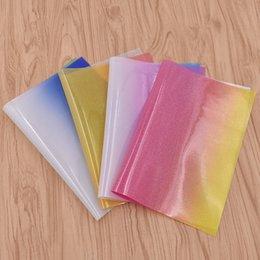 tecido de moda de couro falso Desconto Moda Faux Couro Sacos de Roupas Artesanato Decoração de Tecido A4 Patchwork Handmade Sew-On Acessórios de Vestuário