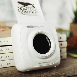 автомобильное зарядное устройство dvd Скидка Мини Bluetooth для беспроводной бумаги Фотопринтер Портативный Instant Mobile