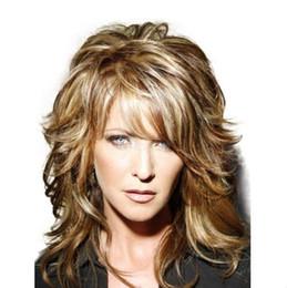 Parrucca 100% dei capelli umani parrucca laterale lunga arruffata arruffata dei capelli umani da