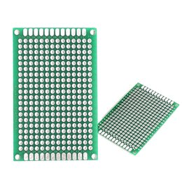 4 X 6cm Fr 4 Glass Fiber Double Side Prototype Pcb Printed Circuit Board For Diy And Electronic Project