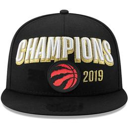 chapeau ajusté en soie Promotion 2019 Hot Sale Raptors Finals Vestiaire Champions Snapback Chapeau Casquette De Mode Hip Hop