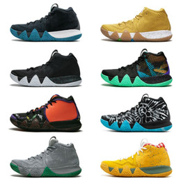 70feb46fcd07 Irving 4 Sports Training Sneakers Kyrie IV Green Lucky Charms Mens 2019 All New  Basketball Shoes For sale size 36-46