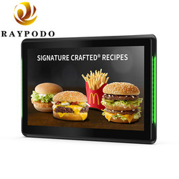 """Raypodo 10,1 """"1280 * 800 Auflösung Android POE Touchscreen-Monitor mit LED-Lichtleiste Innenanwendung von Fabrikanten"""