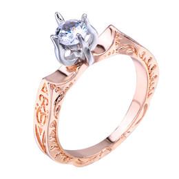 261c1b2c9316 anillo de boda de la flor de loto Rebajas Nueva joyería creativa de la boda  regalos