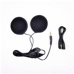 Fones de ouvido para motocicleta on-line-1 par de moto motocicleta capacete fone de ouvido estéreo fone de ouvido para MP3 MP4 telefone