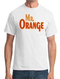 Оранжевая футболка онлайн-Mr Orange - резервуар собаки вдохновили - мужская футболка смешно бесплатная доставка мужская повседневная топ
