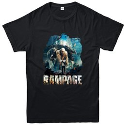 science tees Coupons - Rampage T-Shirt, The Rock Science Fiction Film Inspired Tee Top Comfortable t shirt,Casual Short Sleeve TEE 2019 hot tees
