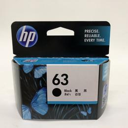 Usato hp online-Originale (63 Nero) F6U62AA Nero Cartuccia d'inchiostro originale utilizza con modelli di stampanti HP: Deskjet 1110, 1111, 1112, 2130, 2131, 2132,