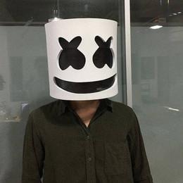 MarshMello DJ Mask Полноголовый шлем Косплей-маска Бар Музыкальный реквизит от