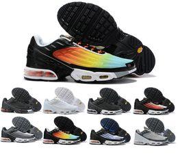 chaussures habillées en jaune pour femmes Promotion 2020 TN ÉCOUTE mens designer AIR chaussures running hommes femmes coussin d'air occasionnels robe formateurs chaussures de randonnée chaussures de sport de Zapatos 36-45