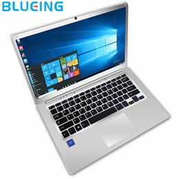Bluetooth ssd online-Spedizione gratuita 14.1 pollici Sliver laptop a colori 2 GB 32 GB SSD Intel Z8350 HD 1920 * 1080 Windows 10 WIFI computer notebook bluetooth