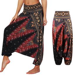 2019 arte sexy ofegante Senhoras Comfy leggings Yoga Baggy Gypsy Sexy Mulheres Harem Pants ampla inverno perna indiana legins solto Yoga dança Mandala Art desconto arte sexy ofegante