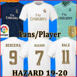 Jerseys de fútbol conjuntos online-VERSIÓN DEL JUGADOR DE VENTILADORES Camisetas de fútbol del Real Madrid 19 20 PELIGRO JOVIC MILITAO camiseta de fútbol 2019 2020 VINICIUS  juegos de kit de niños chandal jerseys la