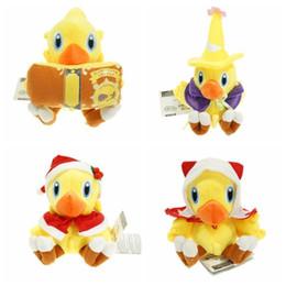 Fantasia finale della bambola online-HT all'ingrosso 6inch Chocobo Final Fantasy peluche giocattoli bambola