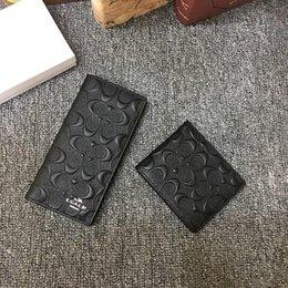 senhoras carteiras de moda Desconto Carteira padrão de xadrez de alta qualidade Ladies 'embreagem marca carteira dos homens Padrão de couro preto é simples e elegante carteira AB-53