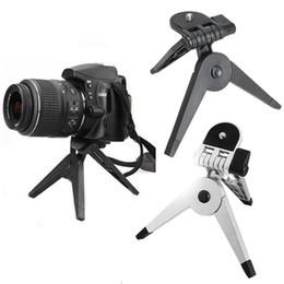 Soporte de cámara plegable online-Fotografía de escritorio plegable portátil de soporte del trípode para la cámara réflex digital Videocámara