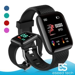 step monitors Promo Codes - 116 Plus Smart watch Bracelets Fitness Tracker Heart Rate Step Counter Activity Monitor Band Wristband PK 115 PLUS for apple samsung Android