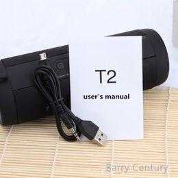 T2 Original Bluetooth Altavoz impermeable portátil al aire libre inalámbrico Mini Columna Caja de altavoz Tarjeta de soporte de altavoces Cajas estéreo al aire libre impermeable r desde fabricantes