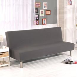élastique Promotion Couverture universelle sans bras de canapé-lit housse de siège pliante moderne stretch couvre pas cher Couch Protector Couverture de futon élastique Spandex