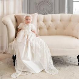 Vintage Hot vente nouvelle robe Angela West bébé filles première communion robe dentelle baptême robe de baptême sur mesure avec chapeau 134 ? partir de fabricateur