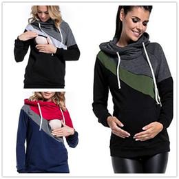 Felpe Maternity Nursing donne l/'allattamento al seno Pullover Felpe Tops Inverno