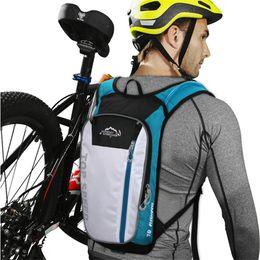 Sacs de vélo souples en Ligne-10L dos souple vélo sac à dos mâle femme plein air sacs sport voyage randonnée sacs à dos Ski VTT accessoires vélo sac d'équitation # 122087