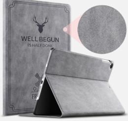 2019 estuche antichoque ipad air Nueva cubierta protectora para iPad 2 3 4 pro 9.7 Air ultrafino 10.5 Flat Mini234 funda de dormir completa