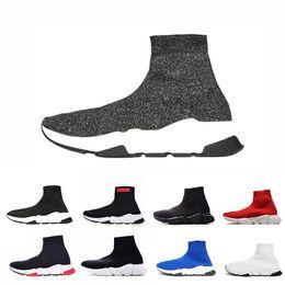 Botas de as online-balenciaga shoes ACE Luxury Brand Designer calcetines casuales Zapatos Speed Trainer Negro Rojo Mr Porter Triple Negro Calcetines de moda Botas Zapatilla de deporte Trainer Zapatillas