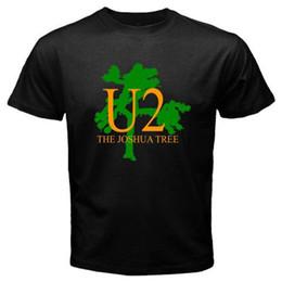 Deutschland New U2 The Joshua Tree Rockband Music Legend Männer Schwarzes T-Shirt Größe S-3XL Versorgung
