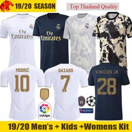affad990e97ce 2019 maillot de joueur de football 19 20 Real Madrid hazard maillots de  football 2019 2020