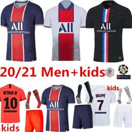 club america jersey azul Rebajas Maillots de fútbol kit 20 21 PSG fútbol Jersey 2020 2021 Paris Mbappé ICARDI Marquinhos camisetas CAMISETAS Cavani camisa hombres hijos enfants