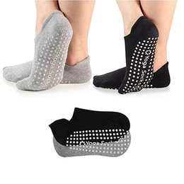 2019 anti-schwitz-socken Yoga Socken Frau Professionelle Antirutsch Sport Socken Sweat-saugfähig atmungsaktiv Pilates Gym Fitness Sports Cotton rabatt anti-schwitz-socken