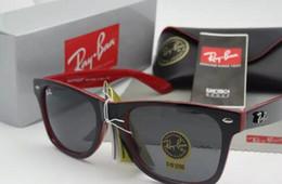 Óculos de sol wayfarer on-line-54mm 2140 venda quente aviador ray óculos de sol do piloto do vintage marca óculos de sol banda polarizada uv400 proíbe homens mulheres ben wayfarer óculos de sol