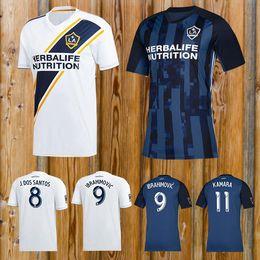 ml trikots Rabatt Zlatan Ibrahimovic Fußballtrikot La Galaxy Ibrahimovic MLS 2018 Fußballtrikot Giovani Los Angeles Jersey T-Shirt Maillot