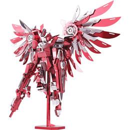 Canada Nouveau produit Thundering aile en trois dimensions créatif métal jouet manuel bricolage assemblé assemblage puzzle cool modèle jouet 3D Offre