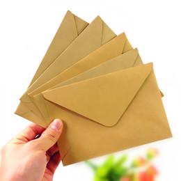 sacos ziplock vermelhos Desconto 100 pçs / lote novo vintage diy papel kraft multifuncional envelope 16 * 11 cm cartão de presente envelopes para festa de aniversário de casamento