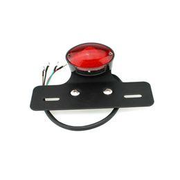 Luzes led quad atv on-line-Motocicleta Quad ATV Turn signal 14 LED Placa de identificação do freio integrado luz da cauda