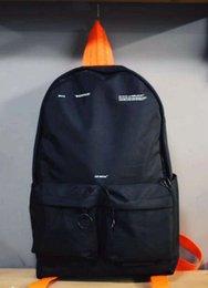 Borsa a tracolla arancione online-Borsa a tracolla multifunzionale popolare della borsa a tracolla della borsa a tracolla dello studente del nastro arancio Viaggio di modo per gli uomini e le donne