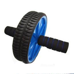 Argentina Ab Wheel Fitness Equipment Rueda de rodillos Ab para ejercicios básicos - Ruedas dobles y asas de espuma - Entrenamiento abdominal Suministro