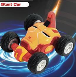 Control remoto de coche pequeño online-Súper pequeño Stunt Rolling Mini Control remoto Coche Rc Rc Coche Control remoto Coche