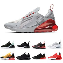 new arrival d41a7 44de6 2019 sportschuhe männer AIR MAX 270 SHOES airmax maxes 270s Triple Black  white Tiger Running Shoes